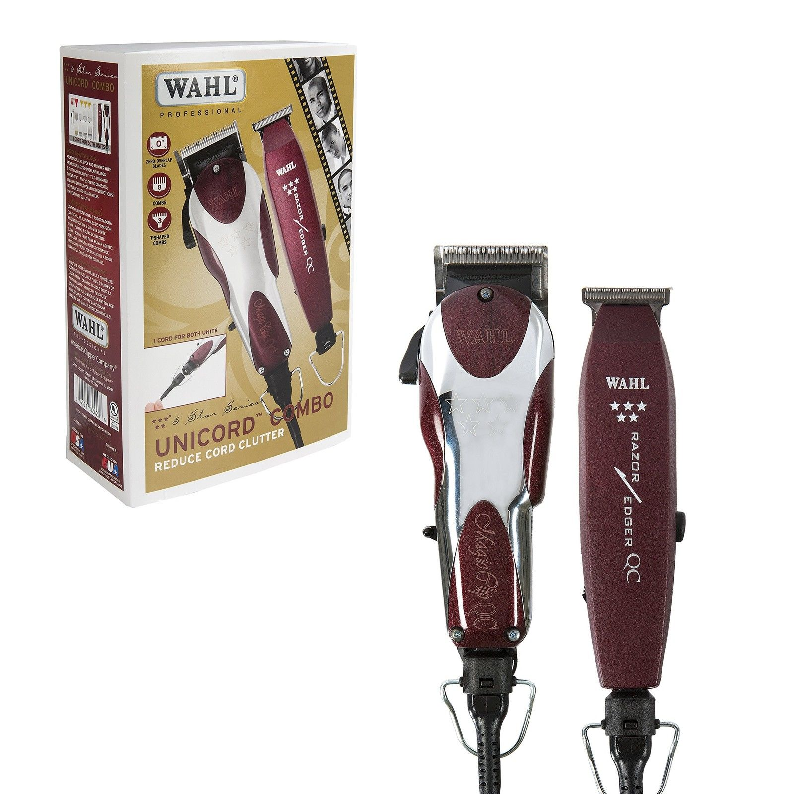 Wahl Professional 5-Star Unicord Combo (ไฟนอก 120V)