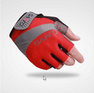 ถุงมือ SANTO สีแดง