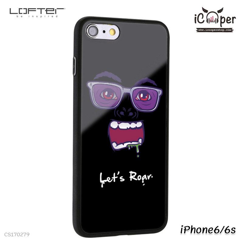 LOFTER Cartoon Mirror - Let's Roar (iPhone6/6s)