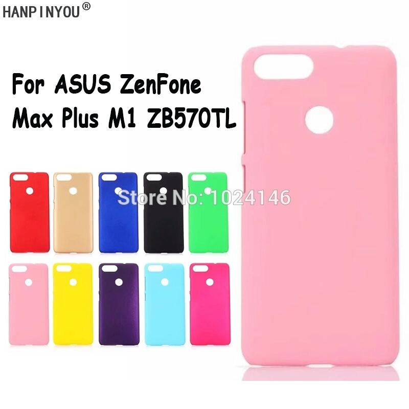 เคส zenfone max plus พลาสติกแข็งโทนสีพาสเทล