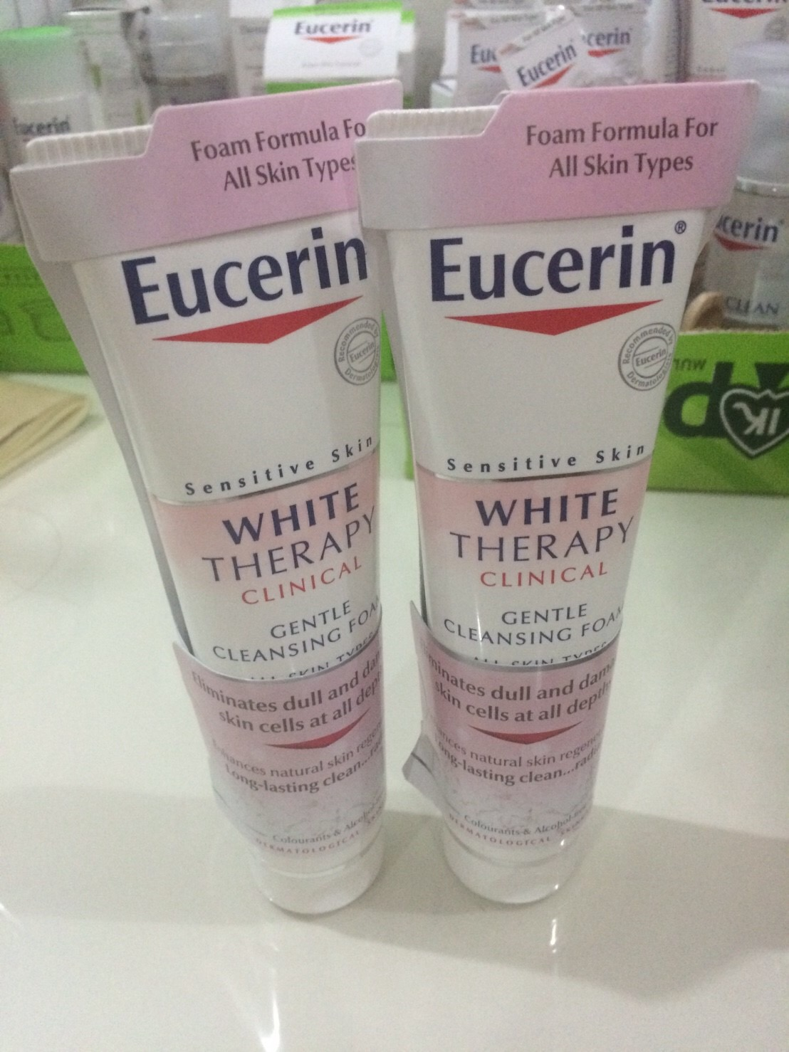 #Eucerin White Therapy Clinical Cleansing Foam 150 ml