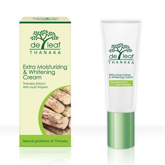 De Leaf Thanaka Extra Moisturizing & Whitening Cream**