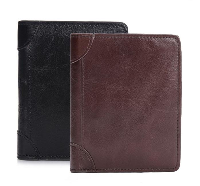 กระเป๋าสตางค์หนังแท้ ผู้ชาย ทรงตั้ง Ven Leather CC