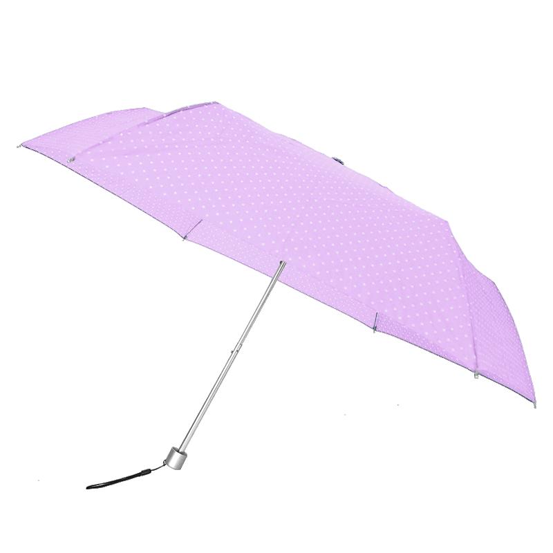 Waterfront Spot Air Folding Umbrella ร่มพับน้ำหนักเบาจุดๆ - ม่วง