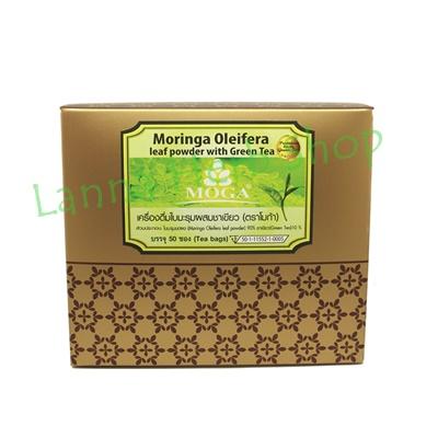 ชามะรุมผสมชาเขียวเพื่อสุขภาพ ขนาดบรรจุ 50 ซอง (กล่อง)