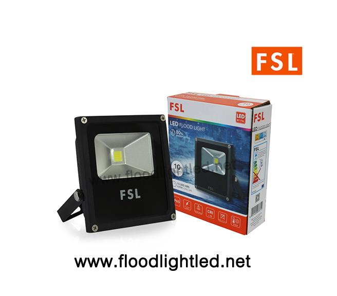LED Floodlight 10w FSL แสงเดย์ไลท์ (แสงสีขาว)