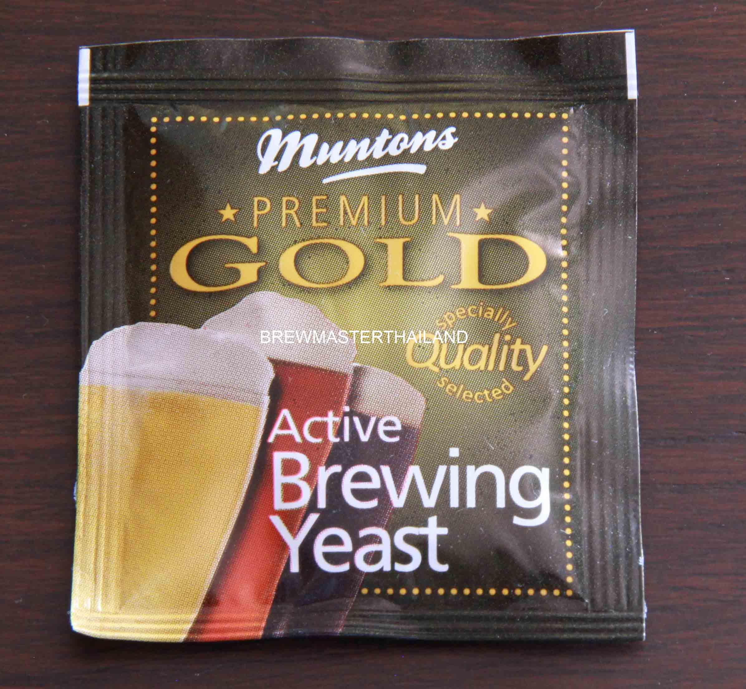 Muntons Premium Gold Active Brewing Yeast