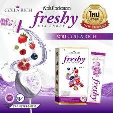Colla Rich Freshy คอลล่าริช เฟรชชี่ (ชง) 1 กล่อง 10 ซอง
