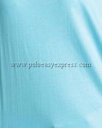 เสื้อยืดเด็ก สีฟ้าอ่อน คอวี แขนสั้น Size L