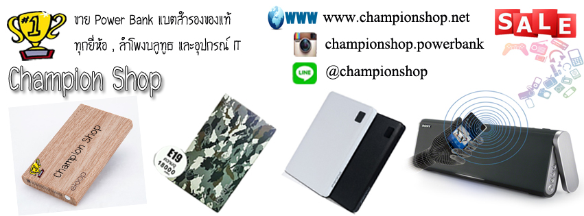 Champion Powerbank