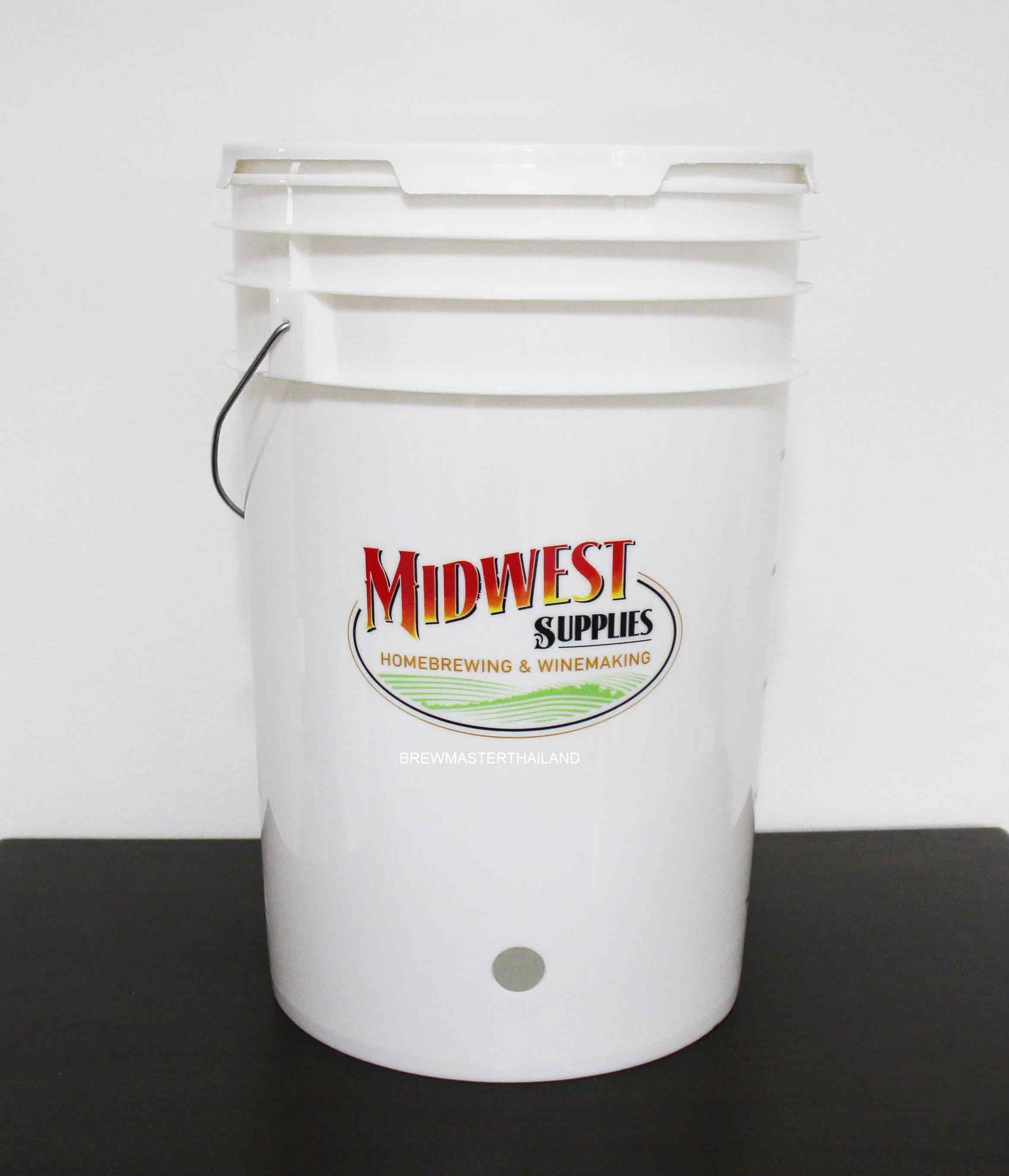 HDPE Bottling Bucket - 6.5 Gallon (USA) M Design
