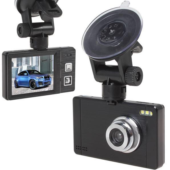"""กล้องติดรถ AM100 LCD 2.4"""" 12 ล้านพิกเซล (สีดำ)"""