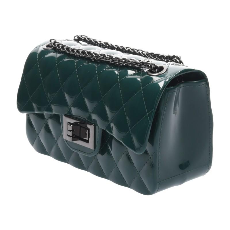 กระเป๋าสะพายแฟชั่น กระเป๋าสะพายข้างผู้หญิง Mini Toy Classic [สีเขียว]