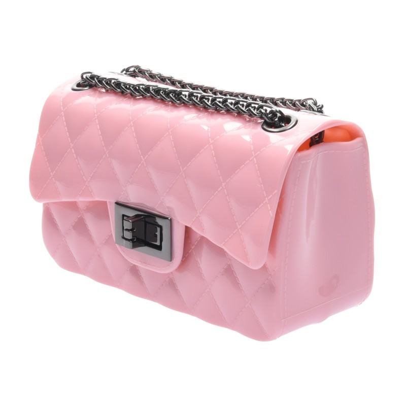 กระเป๋าสะพายแฟชั่น กระเป๋าสะพายข้างผู้หญิง Mini Toy Classic [สีชมพู]