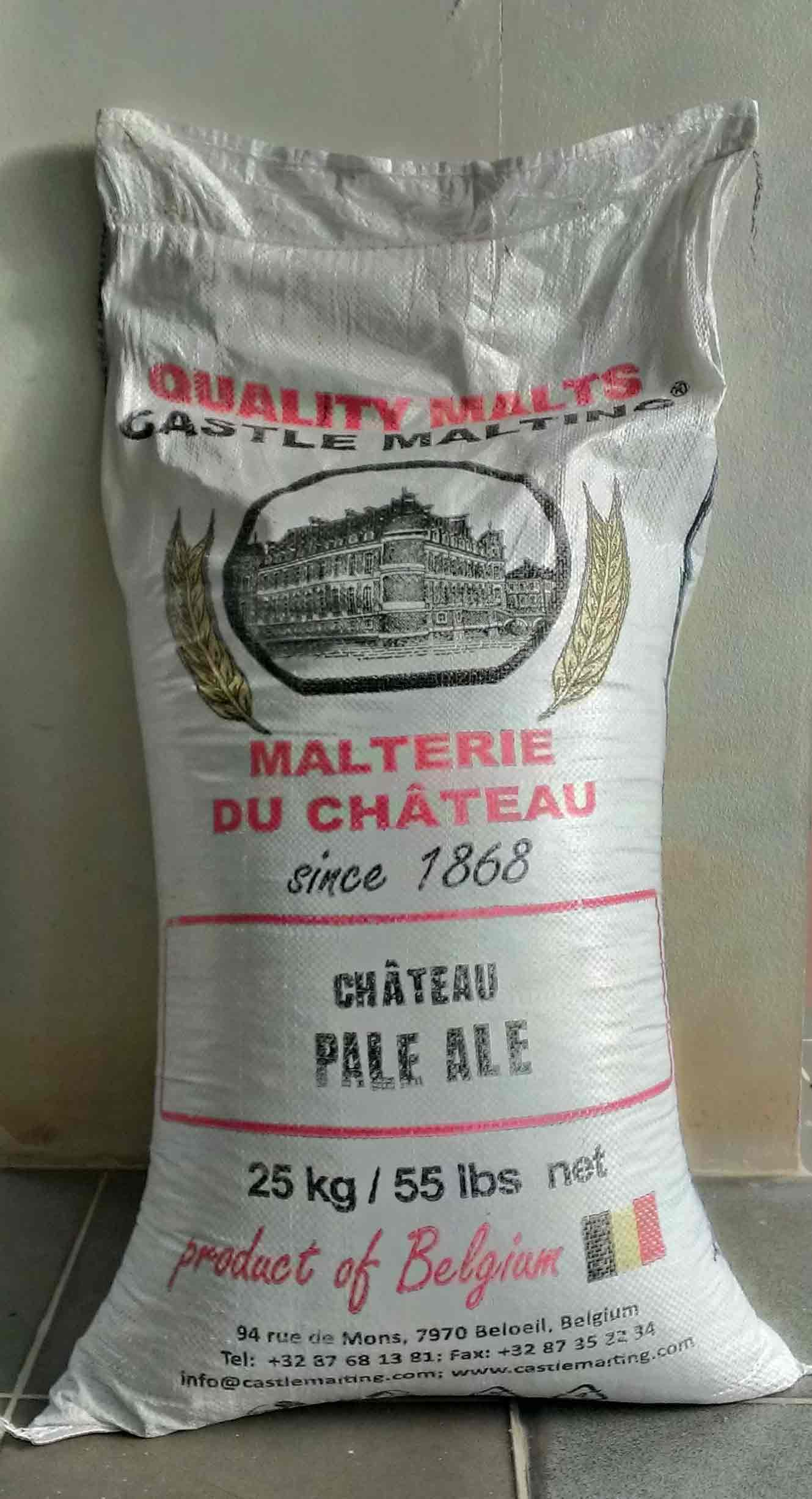 Pale Ale Malt - Castle Malting 25 KG 55 LB