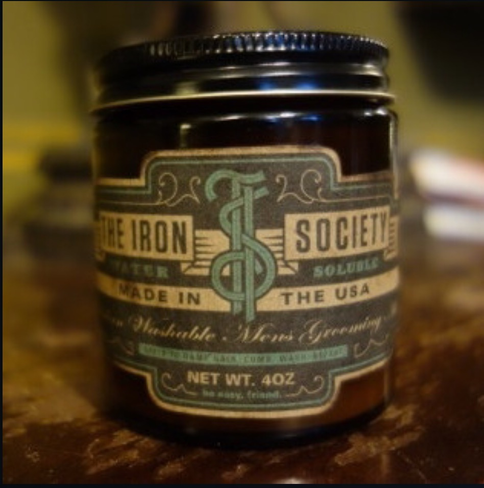 Iron Society Water Soluble Pomade