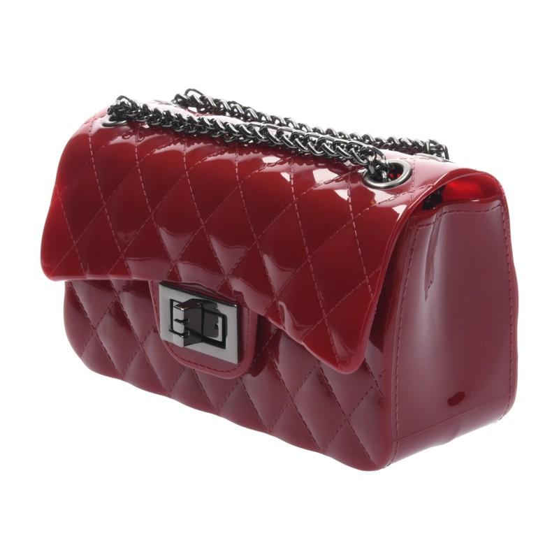 กระเป๋าสะพายแฟชั่น กระเป๋าสะพายข้างผู้หญิง Mini Toy Classic [สีแดง]