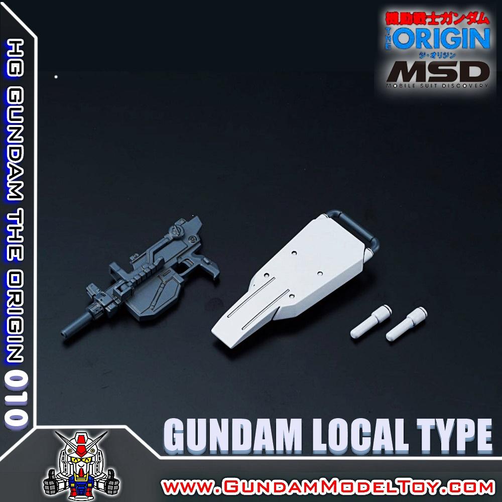 HGORIGIN 1/144 GUNDAM LOCAL TYPE กันดั้ม โลคอล ไทฟ