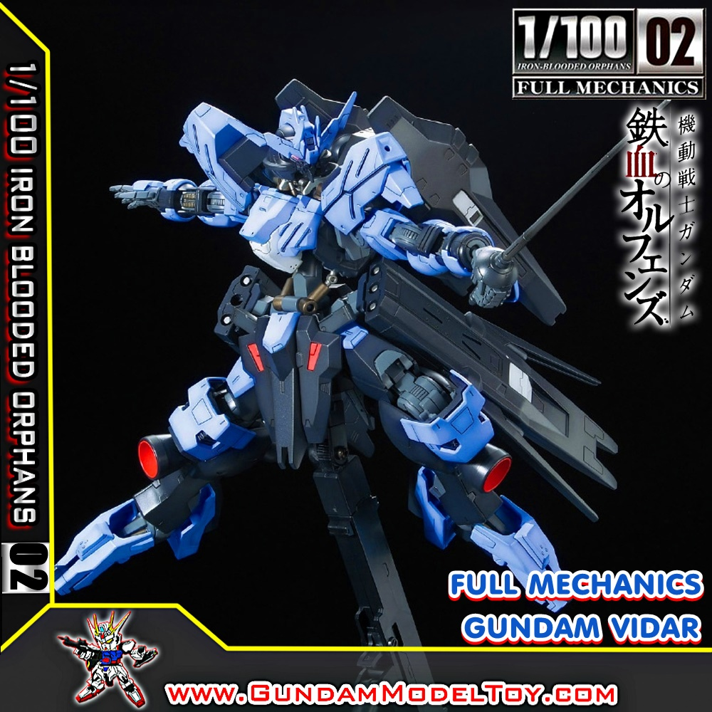 1/100 SCALE MODEL 02 FULL MECHANICS GUNDAM VIDAR
