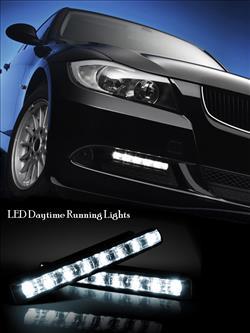 ไฟ LED Daytime Running Lights ติดรถยนต์