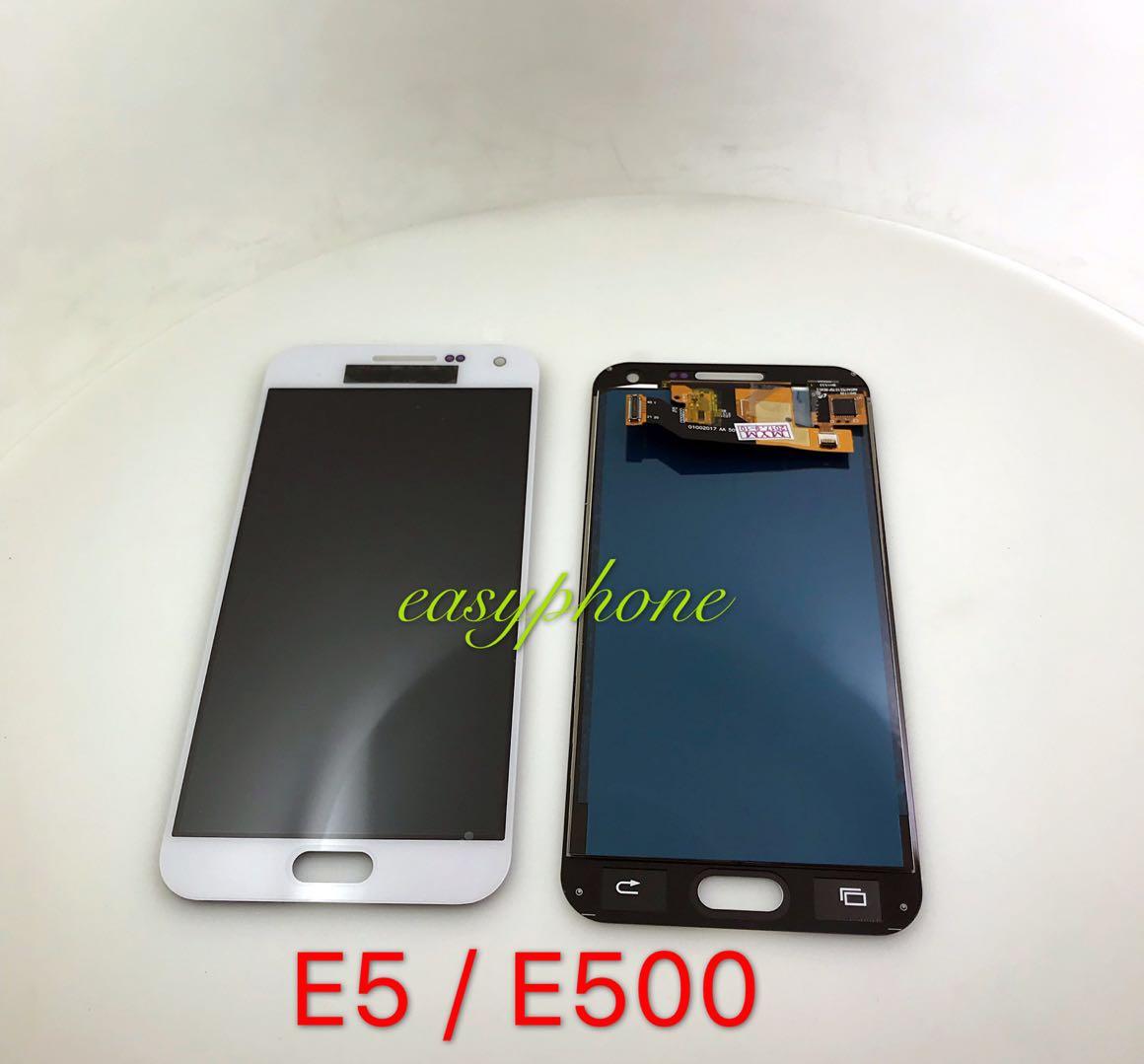 LCD E5 / E500 (เป็นจอชุดงานAปรับแสงไม่ได้) // มีสี ขาว,ดำ