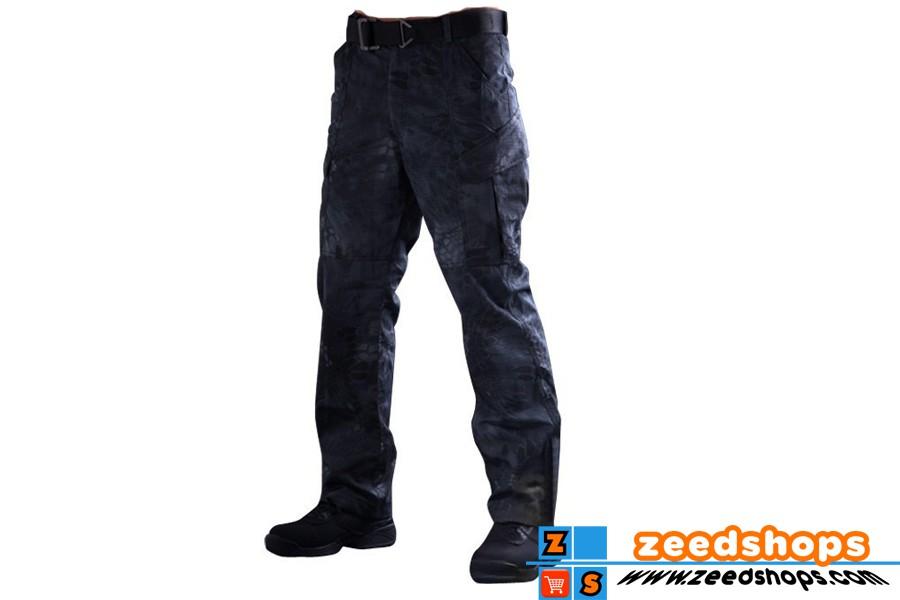 กางเกงแทคติคอล Cheifscreat Polist Black