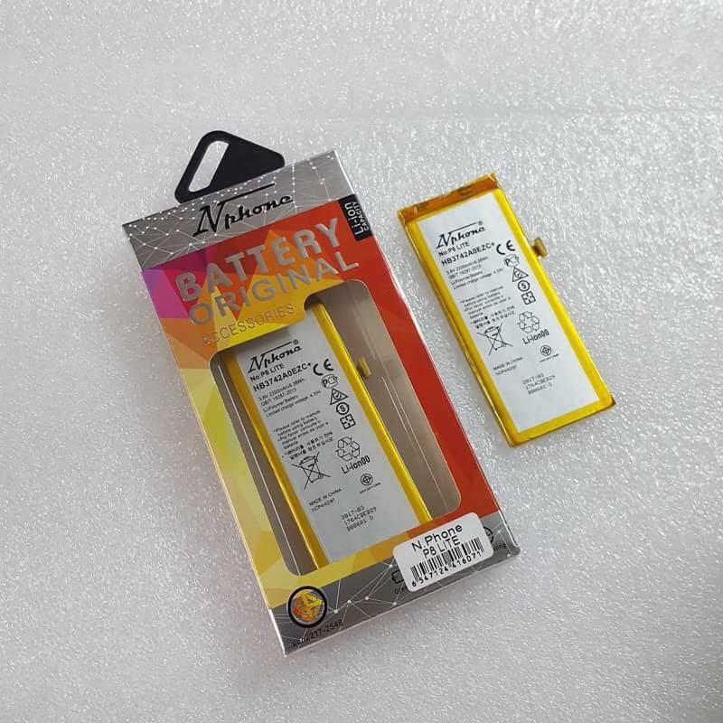 แบตเตอรี่ ม.อ.ก ( ยี่ห้อ N-Phone ) huawei P8 lite