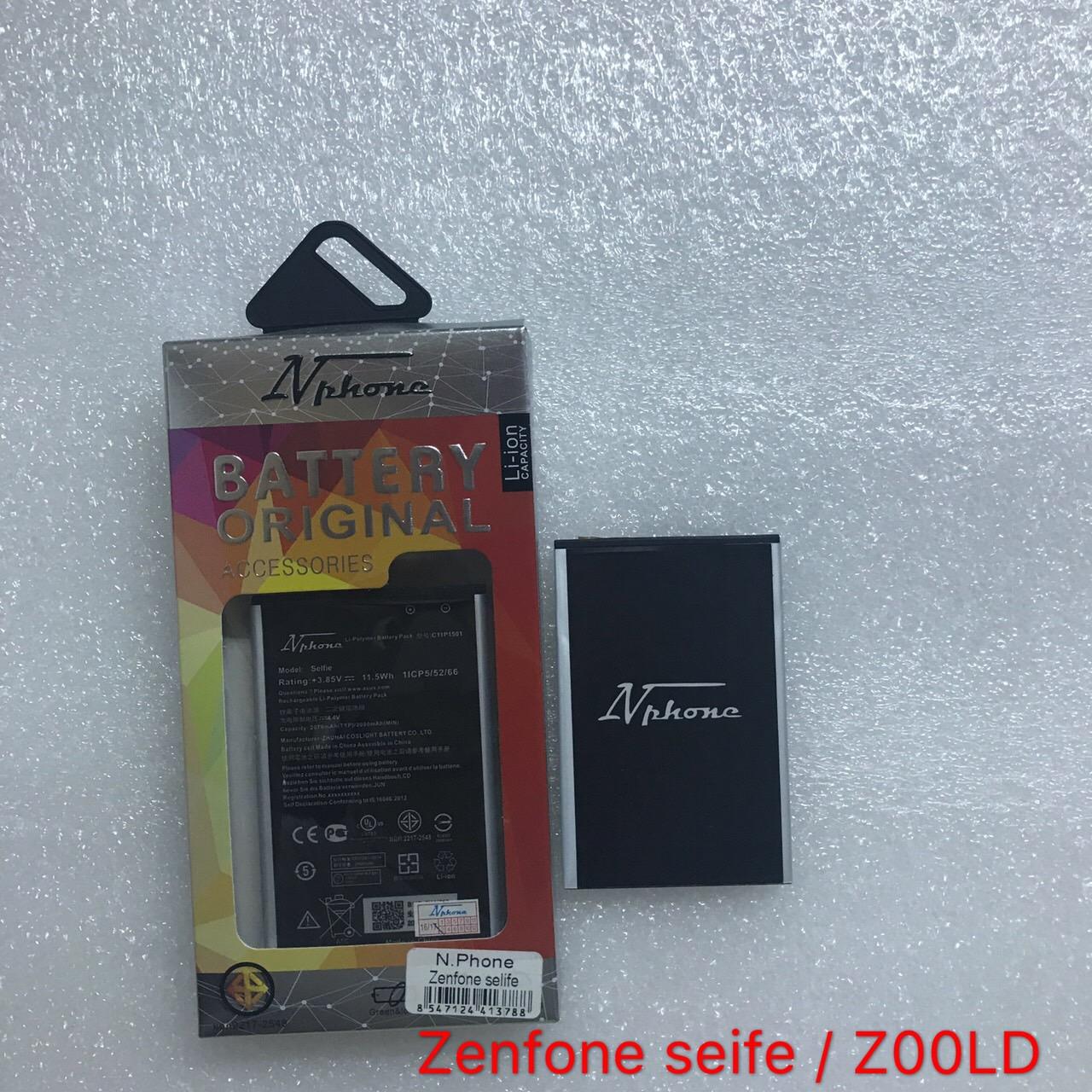แบตเตอร์รี่ งานบริษัท ( มี มอก ไส้เต็ม ) Asus Zenfone Seife / ZOOLD