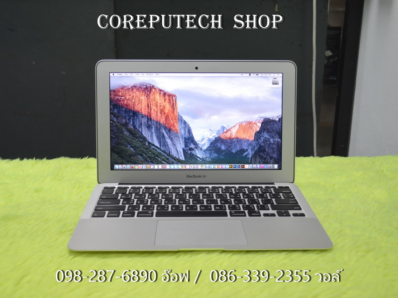 MacBook Air 11-inch Intel Core i5 1.7GHz. Ram 4GB SSD 64GB Mid 2012.