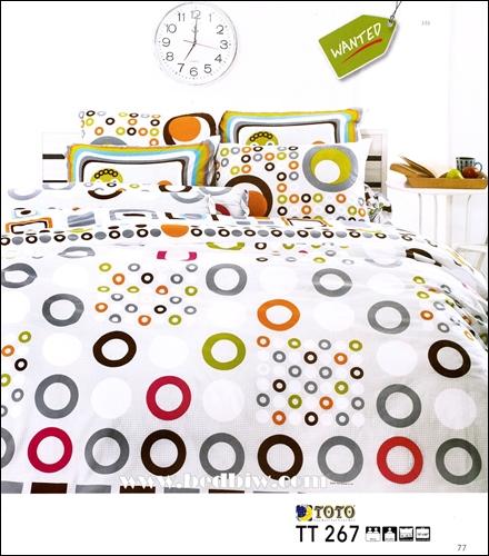 ชุดเครื่องนอน ผ้าปูที่นอนtoto TT267