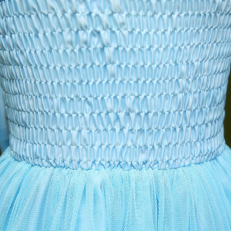 ชุดไปงานแต่งราคาถูกสีฟ้า
