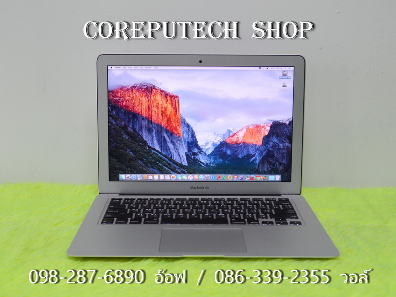 MacBook Air 13-inch Intel Core i7 2.2GHz. Ram 8 SSD 256 Ealy 2015. CTO