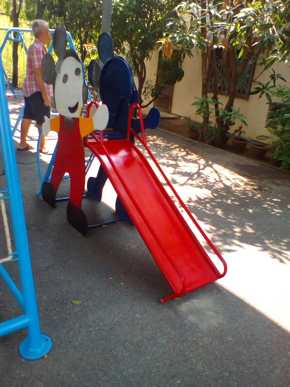 รหัส PG ผลงานติดตั้ง (ปากเกร็ด) เครื่องเล่นสนามกลางแจ้งสำหรับเด็ก-03