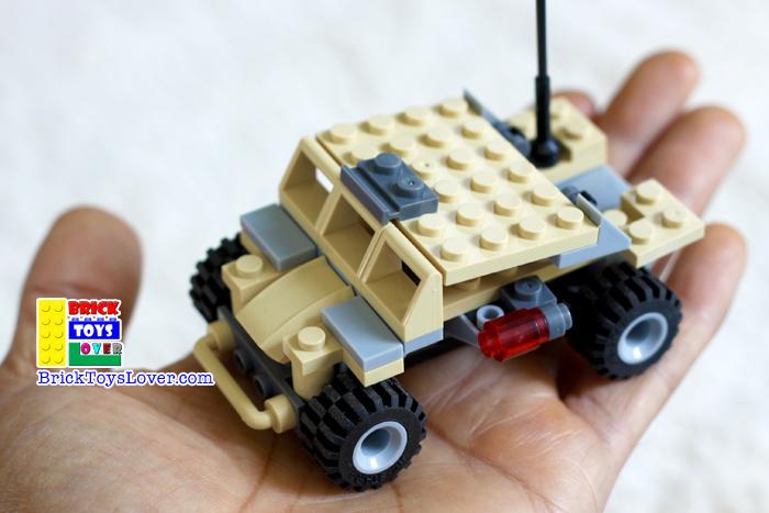 เลโก้จีน 29017-2 ทหาร Legion Cheetah ราคาถูก Commanding Chariot