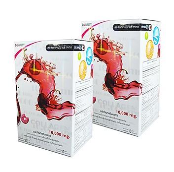 Donut Collagen 10000 mg (โดนัท คอลลาเจน) 2 กล่อง ๆ ละ 350 บาท