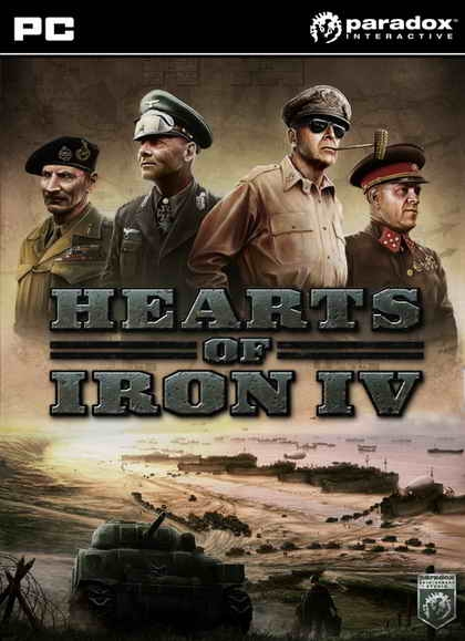 Hearts of Iron IV (1DVD)