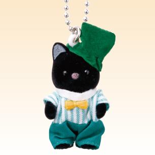 พวงกุญแจซิลวาเนียน เบบี้แมวดำ (JP) Sylvanian Families Chacoal Cat Baby