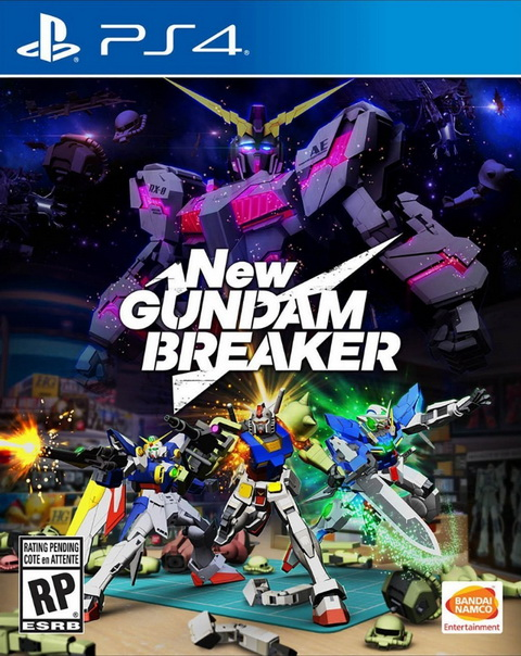 PS4- New Gundam Breaker