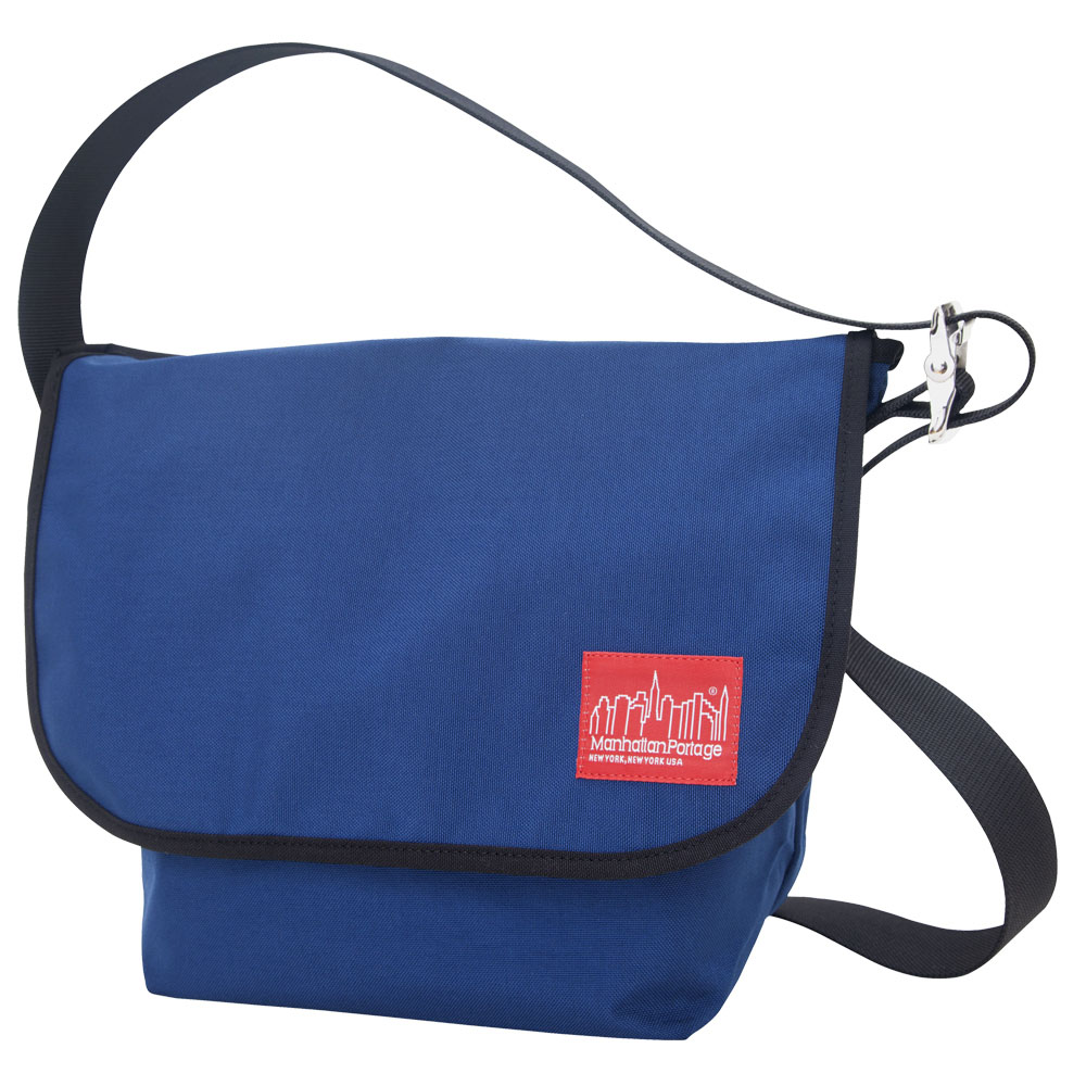Manhattan Portage Vintage Messenger Bag – Navy Size MD