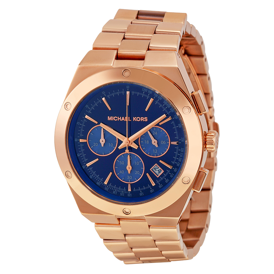 michael kors gold blue