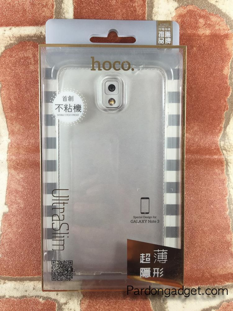 เคส Hoco รุ่น Ultra Slim For Note3 สีใส