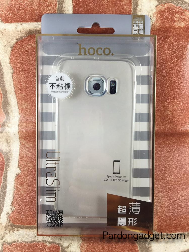 เคส Hoco รุ่น Ultra Slim For S6 Edge สีใส