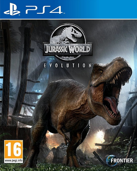 PS4- Jurassic World Evolution