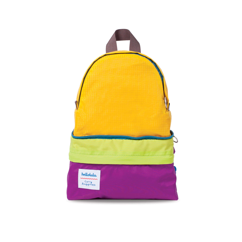 Hellolulu กระเป๋าเด็ก รุ่น HANNA - Purple/ Yellow