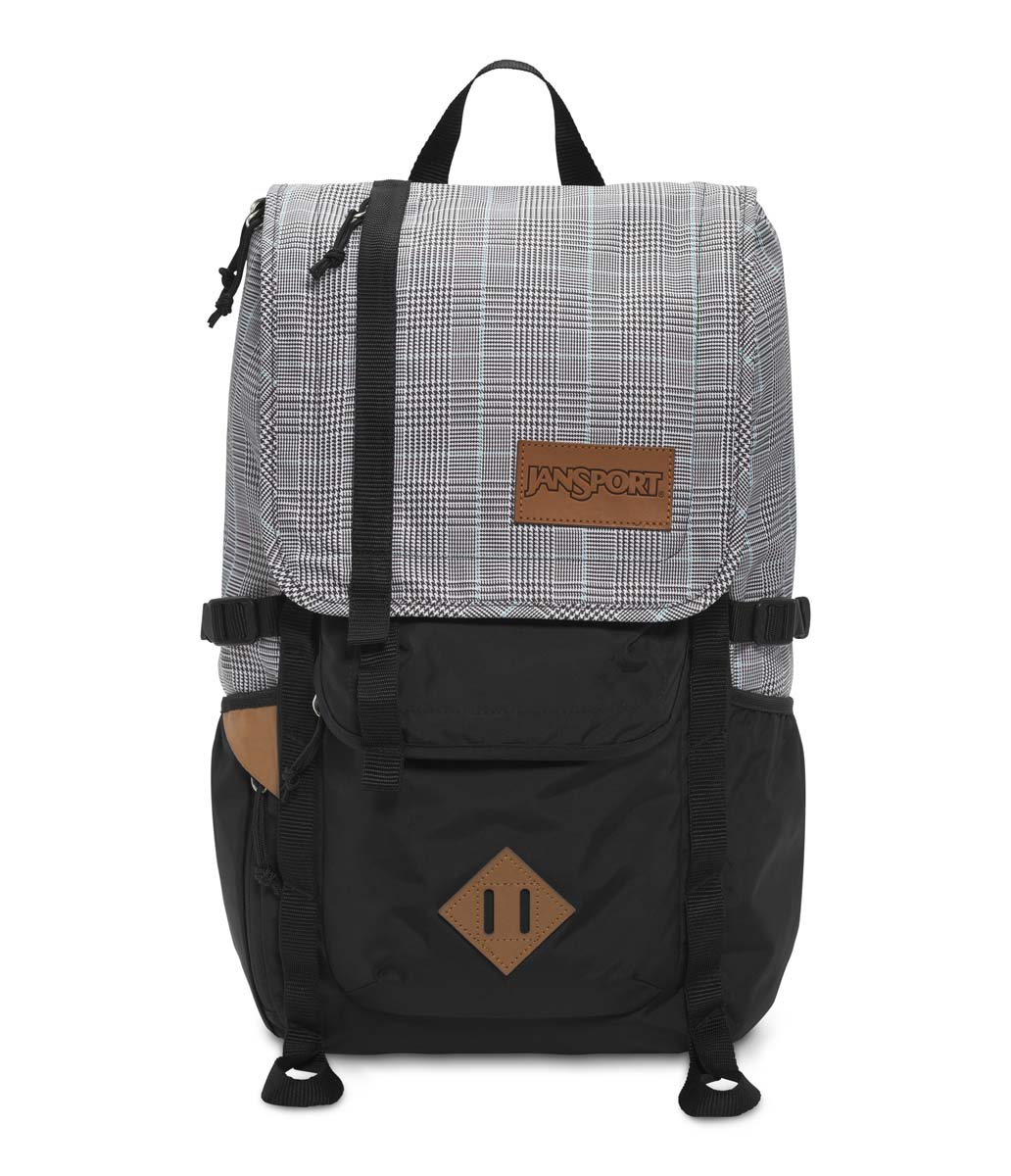 JanSport รุ่น HATCHET SPECIAL EDITION - BLACK/WHITE SUITED PLAID