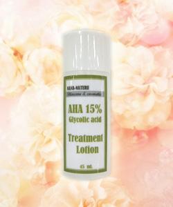 AHA 15% gel ทรีทเม้นท์ผิวหน้าขาวใส สำหรับผู้ที่เพิ่งเริ่มใช้ AHA