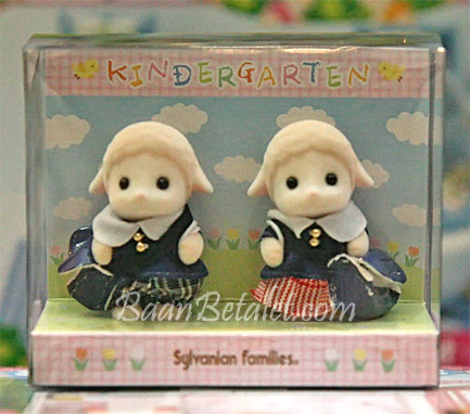 เบบี้แกะซิลวาเนียนใส่ชุดอนุบาล (JP) Sylvanian Families Kindergarten