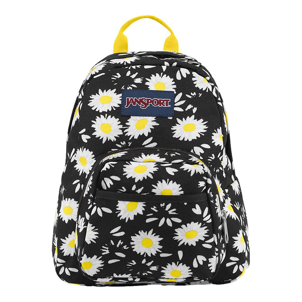 JanSport กระเป๋าเป้ รุ่น Half Pint - Black Lucky Daisy