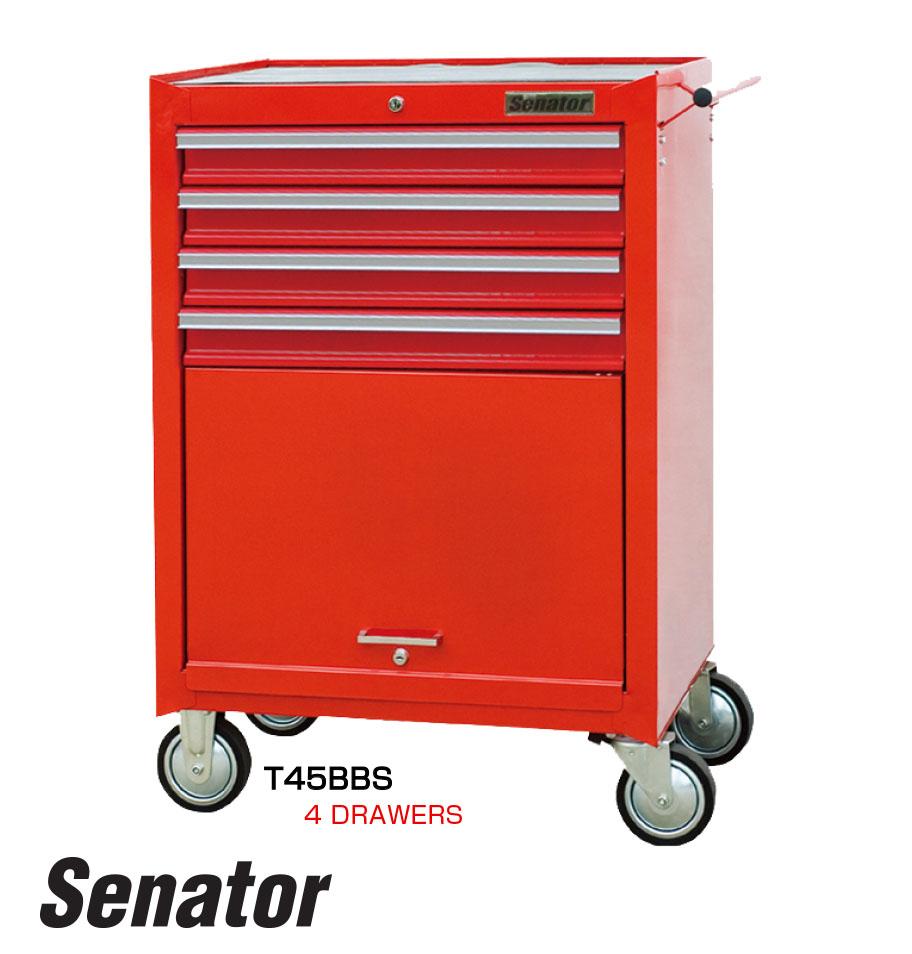 รถเข็นเก็บเครื่องมือ 4 ลิ้นชัก / 4 Drawers Tool Trolley (Senator)