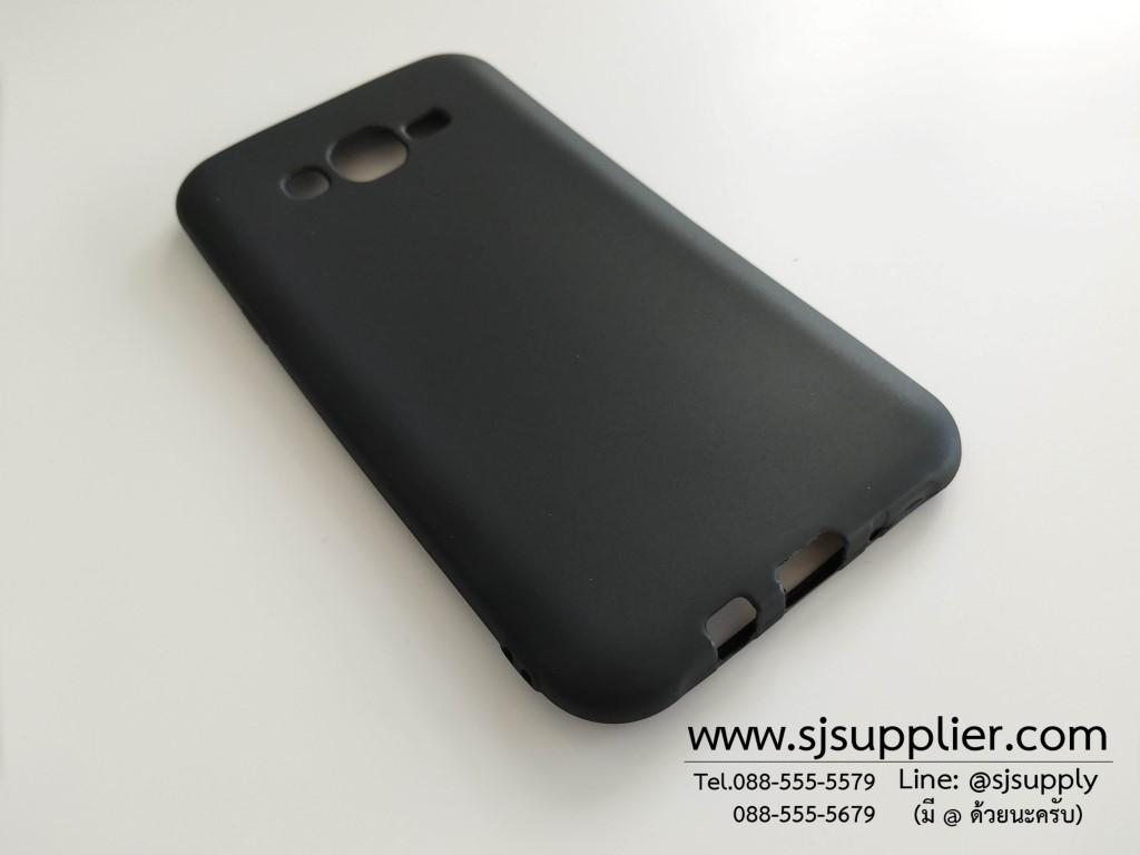 เคส Samsung J7(2016) นิ่ม สีดำ